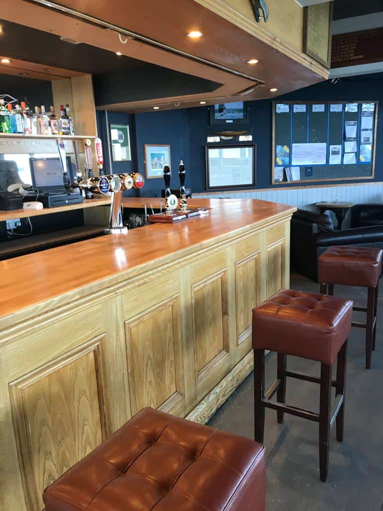 Revarnished bar